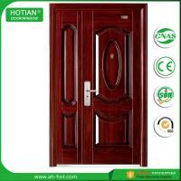Best American Style Plastic Steel Door Exterior Door Security Door Metal Door for Keeping Home safety wholesale
