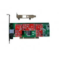 Best Powerful 4 FXS FXO Asterisk PCI Card wholesale