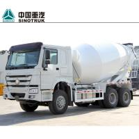 China Euro II Concrete Construction Equipment 336HP 10 Cubic Meters Self Loading Concrete Mixer Truck on sale