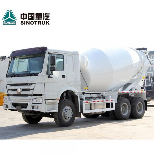 Cheap Euro II Concrete Construction Equipment 336HP 10 Cubic Meters Self Loading Concrete Mixer Truck for sale