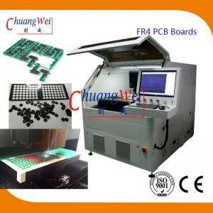 Quality 15W UV Laser PCB Depanelization Machine ±20 μM Precision For FR4 PCB Boards wholesale