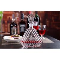 Best 600ml Wine Decanter Whiskey Glass Bottle With Lid Height 29cm For Alcohol Bar wholesale