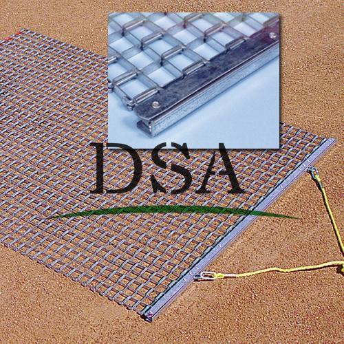 standrad steel drag mat for football turf