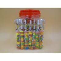 Best Different Shape Bottled Fruity Hard Candy Raspberry / Strawberry / Mango Candies wholesale