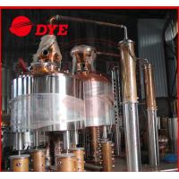 Best 500Gal Stainless Steel / Copper Commercial Distilling Equipment 1 - 3Layers CE wholesale