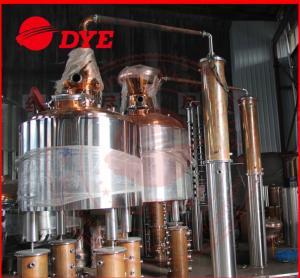 Best Common Alcohol Distiller Apparatus , Moonshine Pot Still Distillation wholesale