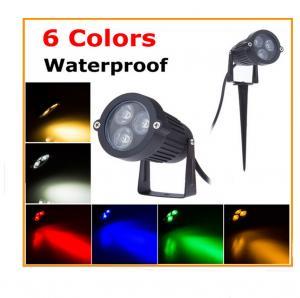 Best 3W Round aluminium 1x3W LED garden lighting & led lawn lighting for dooryard wholesale