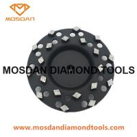 Best Metal Bond Scatter Segment Grinding Cup Wheel wholesale