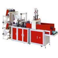4 Line Computer Control Automatic Bag Making Machine For Making Polythene Bags Sealing Cold Cutting