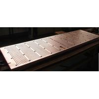 Best Wear Resistance Copper Mould Plate For Continuous Casting Machine , ISO Certification wholesale