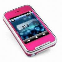 Buy cheap Flash MP4 Player with 2.8-inch TFT 260K Colors Touchscreen, 1.3MP Camera from wholesalers