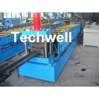 Best Single Side Adjustable C Purlin Roll Form Machines With Manual / Hydraulic Decoiler wholesale