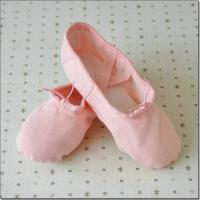 Best high quality canvas fabric dance shoes practice ballet shoes with children and adult sizes wholesale