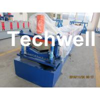 Best Ridge Flashing / Ridge Valley Roll Forming Machine For High Grade 45# Forge Steel wholesale