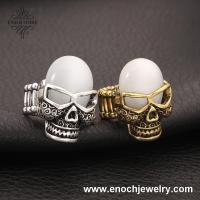 Best Newest Vintage Cat Eye Skeleton Holloween Ring For Child wholesale