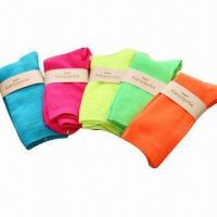 Best Ladies Double cylinder cotton socks, weighs 28g/pair wholesale