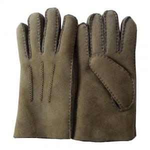 Best New design fashion sheepskin double face gloves wholesale