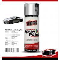 Buy cheap Chemicals Chrome Spray PaintShock Resistance For Glass / ABS Plastics from wholesalers
