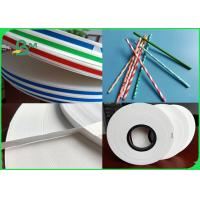 China 28gsm 60gsm 120gsm Environmentally friendly and degradable FDA straw paper in roll on sale