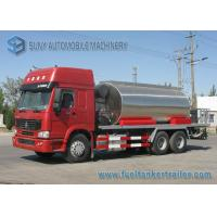 Quality Sinotruck Howo series 6X4 Asphalt Tank Trailer 10000 L -11000 L 3 Axles 300Hp wholesale