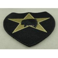 Best USA Military Personalised Embroidered Badges , Embroidery Custom Cloth Patches wholesale