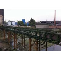 Quality Portable 3 Meters Modular Steel Suspension Bridge Prefabricated Steel Bridges wholesale
