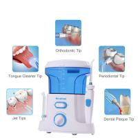 China Oral Hygiene Electric Oral Irrigator Daily Use Portable Water Jet Cleaner For Teeth on sale