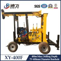 Cheap XY-400F Core Sampling Drilling Rig, 400m Water Well Drilling Rig Machine for for sale