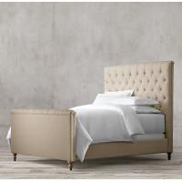 Buy cheap french style upholstered provincial reproduction bed headboard beds headboards from wholesalers