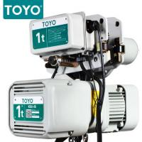 TOYO KD-1 Aluminum Body Three Phase 380V Electric Chain Hoist Hook Suspension