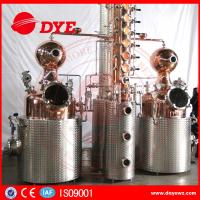 Best 500L Manual Wine Alcohol Distiller Tower With Stainless Condenser wholesale