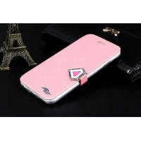 Buy cheap Luxury Wallet Crystal buckle flip Leather Case for iphone6 4.7Buckle Flip Phone from wholesalers