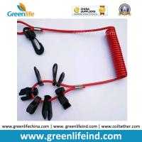 Best 7key Universal Emergency Spiral Cord in Red Color Black Accessories wholesale