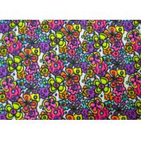 Best Non - Flammable Patterned Polyester Fabric / Heavy Twill Fabric Safe And Clean wholesale