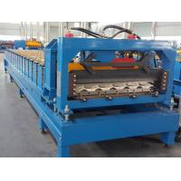 Best CE Roof Panel Roll Forming Machinery 18 Stations 5 Tons De - Coiler Single Chains wholesale