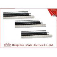 Best Grey / Black Galvanized Steel Flexible Electrical Conduit with PVC Coated wholesale