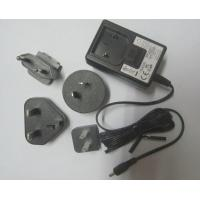 Best External wall mount power supply with interchangeable plug adapters, 12Vdc, 500mA to 1Am wholesale