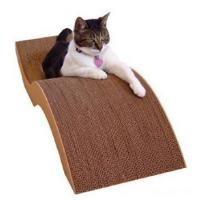 Best Easy Assemble Cardboard Cat Scratcher / Loungers , Stamping / Die-Cutting wholesale