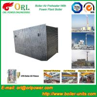 Best 100 T Boiler Part Tubular Air Preheater / APH In Boiler Natural Circulation wholesale