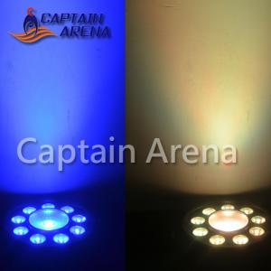Best Big Eye DMX LED Par Light 80W RGB 9x3 W / 1x30 W 1 year warranty wholesale