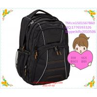 Best 2015 High quality 17 inch laptop backpack with many compartments wholesale
