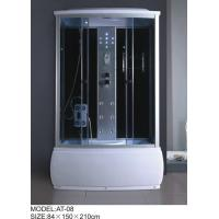 Best Electronic system power shower enclosures with tray Syphon Included Included tub shower stalls wholesale
