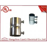 "Best Set Screw Coupling EMT Conduit Fittings With Steel Locknut 1/2"" to 4"" , UL E350597 wholesale"