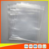 Best LDPE Ziplock Plastic Resealable Bags For Office Furniture Items , Plastic Storage Bags wholesale