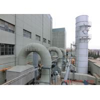 Quality Steel Wet Gas Scrubber 95% Dust Collection Efficiency And Desulphurization wholesale