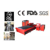 Best 3000W Metal Fiber Laser Cutting Machine For Stainless Steel , Aluminum wholesale