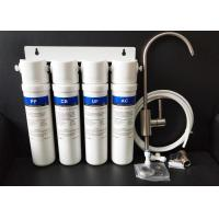 Best 4 Stage UF Water Purifier Machine Quick Fitting Filters PP Active Carbon KDF wholesale