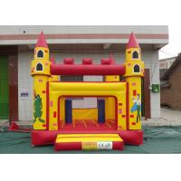 Best Custom Made PVC Inflatable Bouncy Castle Quadruple Stitching With Strong Thread wholesale