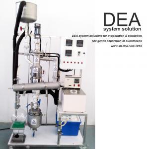 China External Condenser Vacuum Distillation Machine / Alcohol Distillation Equipment With Wiper Basket on sale