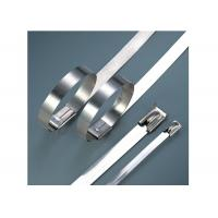Best Stainless Steel Heavy Duty Cable Ties For Cable Wiring Acid / Alkali Resistant wholesale